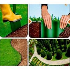 Бордюр огородно-газонный (10х9м) зеленый