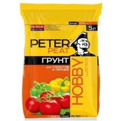 Грунт Для томатов и перцев, линия Хобби
