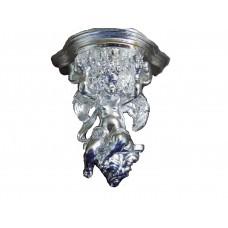Ангел кашпо навесной (покрытие серебром)