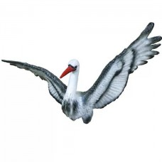Аист с крыльями